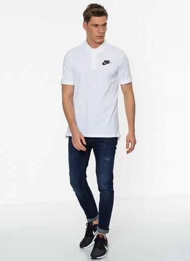 Nike Polo Yaka Tişört Beyaz